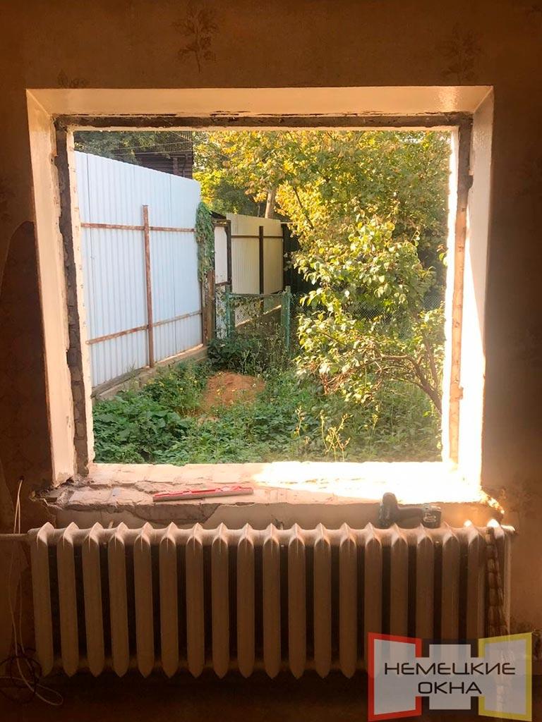 Остекление загородного дома - в процессе работы